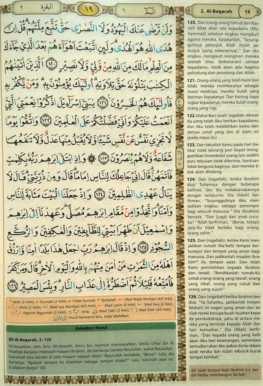 Al Baqarah 120-126