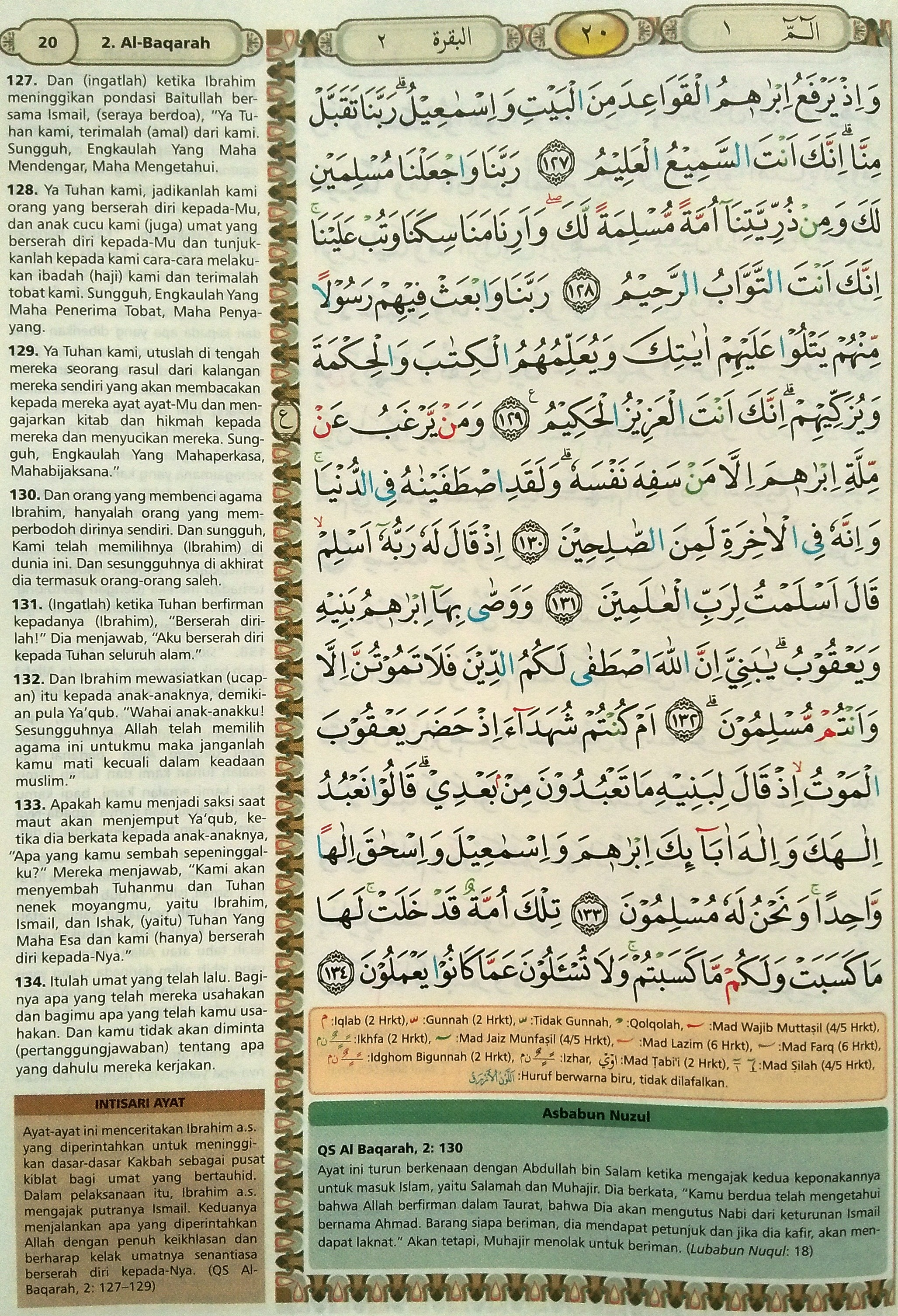 Al Baqarah 127-134