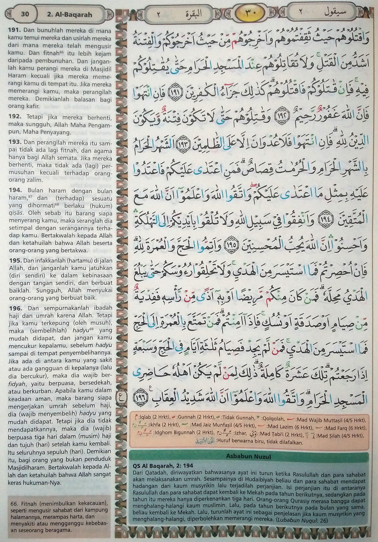 Al Baqarah Ayat 191-196