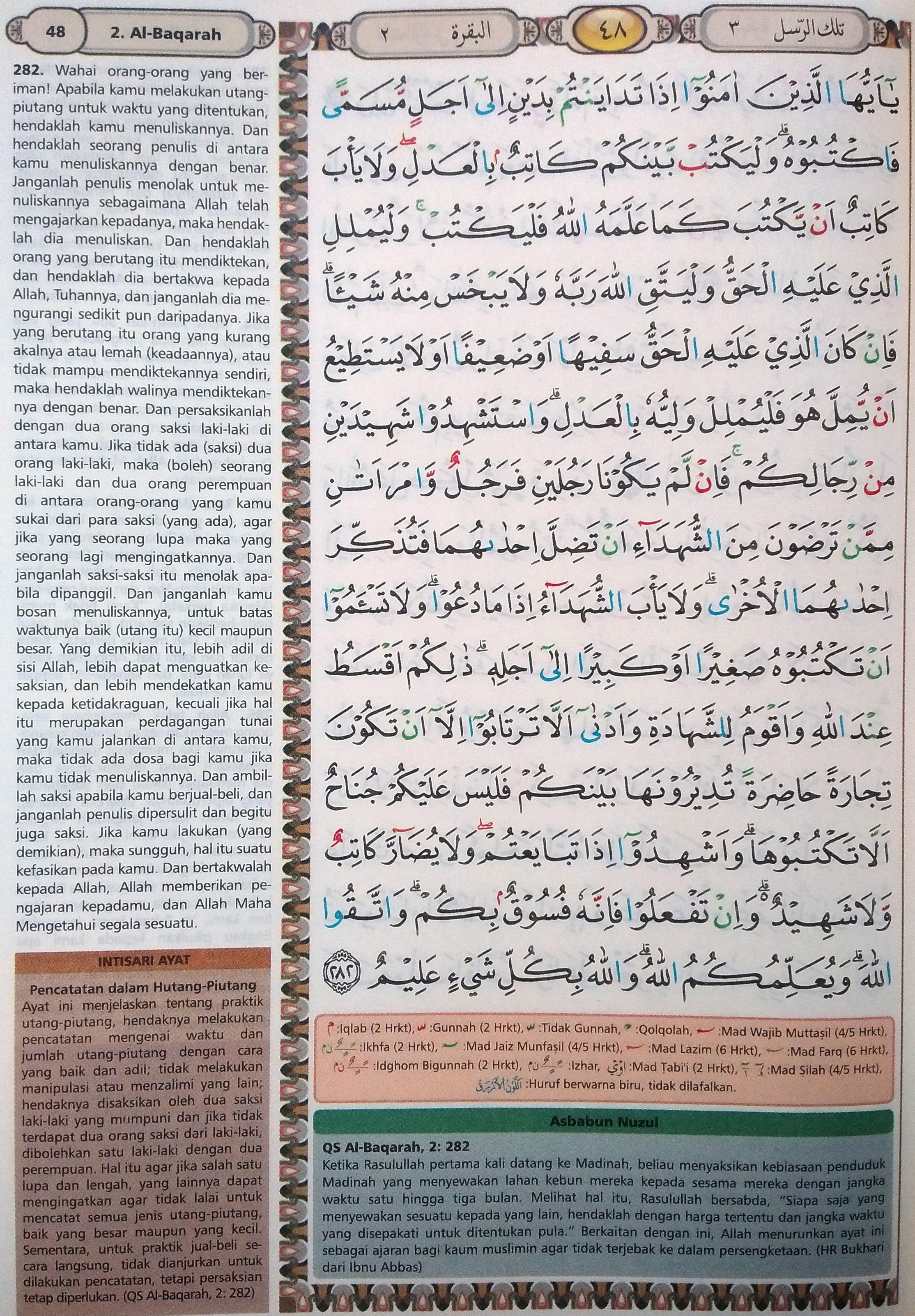 Al Baqarah 282