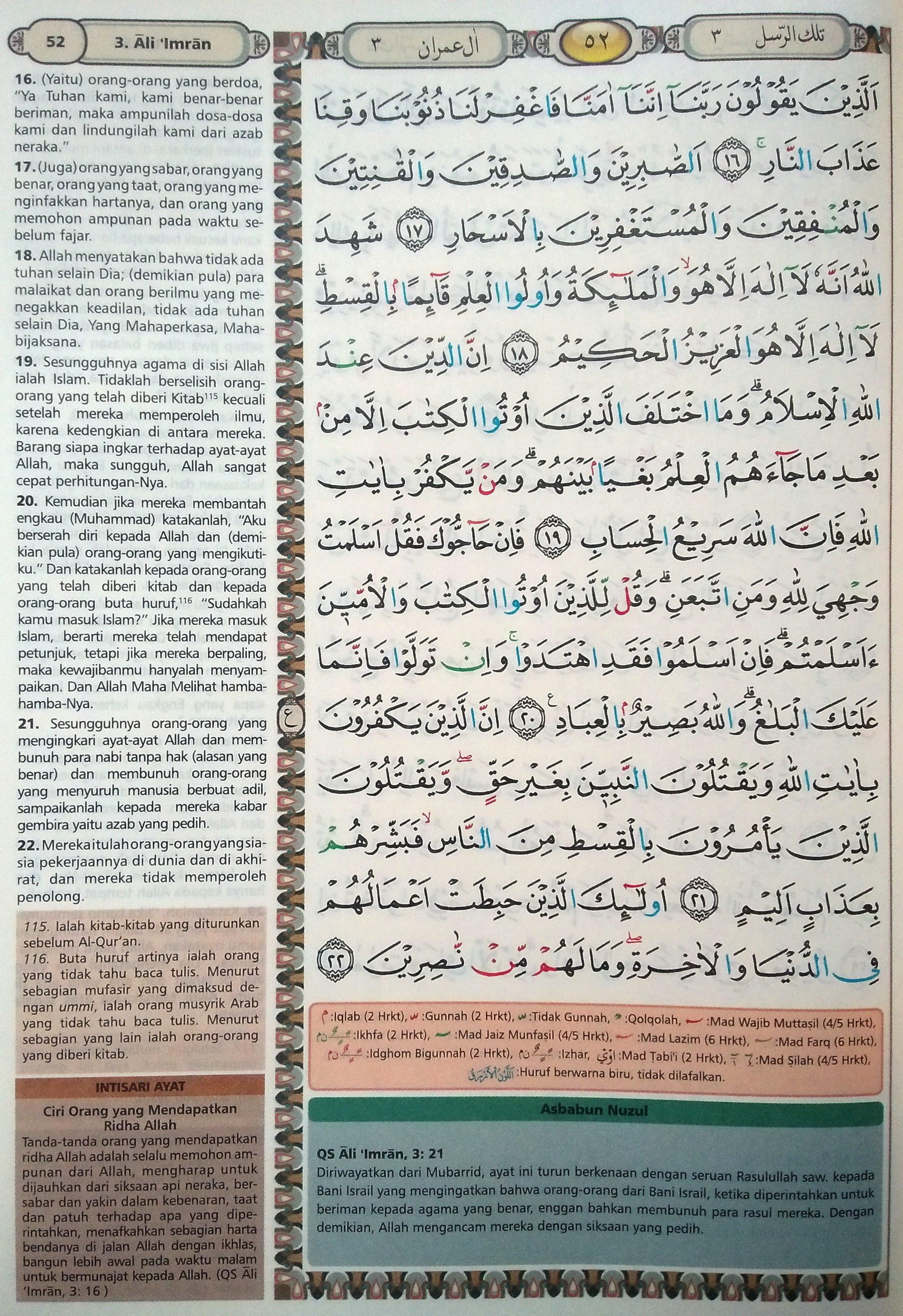 Ali Imran 10-15